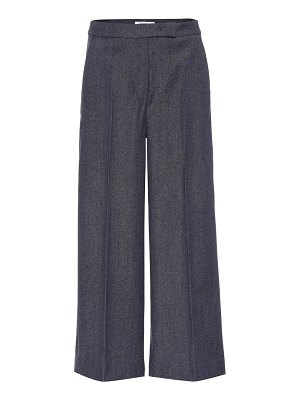 Max Mara revere cropped wide-leg pants