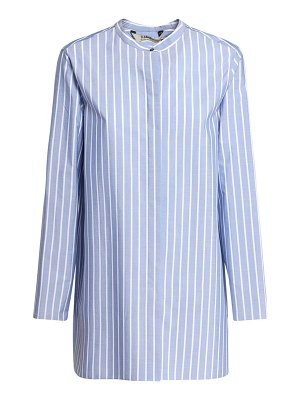 MAX MARA 'S Addi striped cotton poplin long shirt