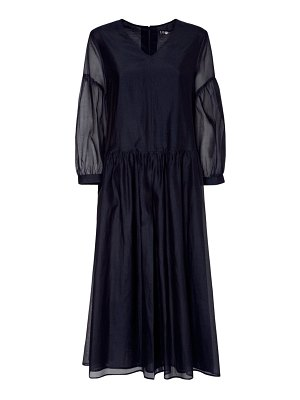 MAX MARA 'S Cotton & silk organza long dress