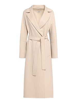 MAX MARA 'S Elisa double wool wrap long coat