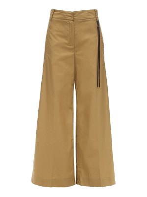 MAX MARA 'S High waist cotton poplin pants