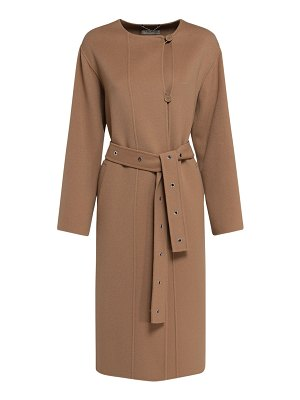 MAX MARA 'S Joan double wool coat w /belt