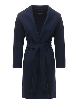 MAX MARA 'S Messi belted virgin wool wrap coat