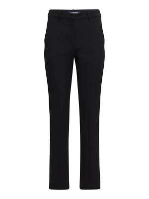 MAX MARA 'S Slim stretch cady pants