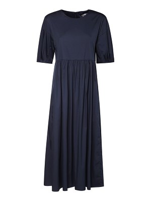 MAX MARA 'S Stretch cotton poplin midi dress