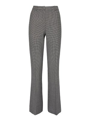 MAX MARA 'S Stretch houndstooth flared pants