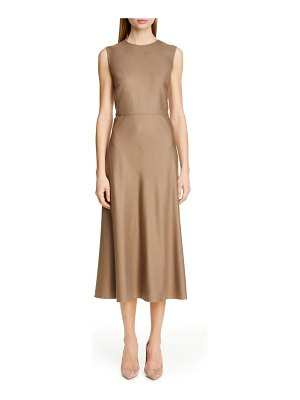 Max Mara ural a-line midi dress