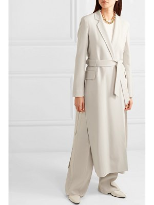 Max Mara stretch-wool crepe coat