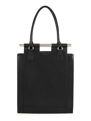 Max+Min the emory leather tote