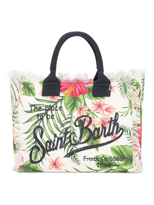 MC2 SAINT BARTH Vanity cotton canvas tote bag