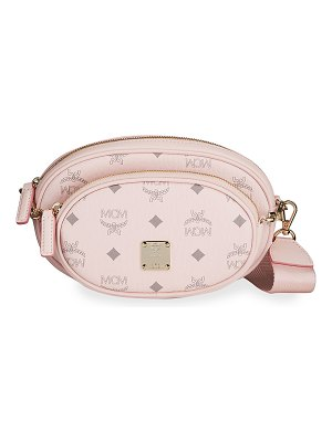 MCM Essential Visetos Original Crossbody Bag