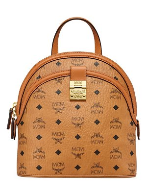 MCM small anna visetos backpack
