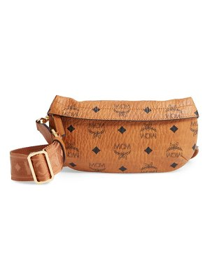 MCM small visetos original crossbody bag