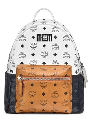 MCM stark visetos colorblock backpack
