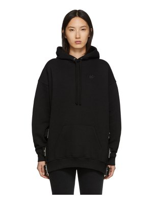 McQ by Alexander McQueen black belted superslouch hoodie