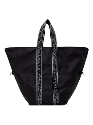 McQ by Alexander McQueen black hyper tote