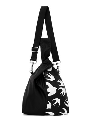 McQ by Alexander McQueen black swallow tote