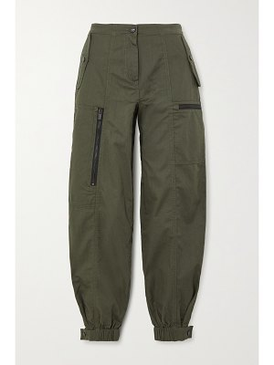 McQ by Alexander McQueen cotton-drill track pants