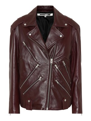 McQ by Alexander McQueen Leather motorcycle jacket