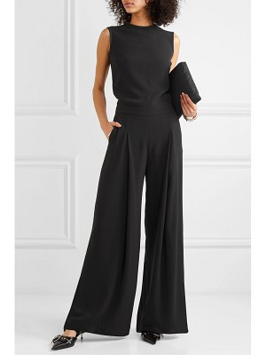 McQ by Alexander McQueen open-back crepe jumpsuit