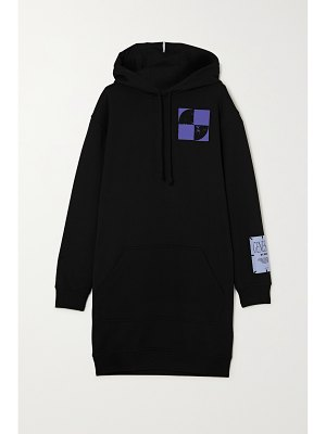 McQ by Alexander McQueen oversized printed cotton-jersey hoodie