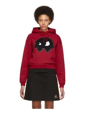 McQ by Alexander McQueen red classic mad chester hoodie