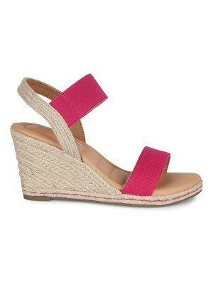 ...me Too Shoes Two Tone Espadrille Wedges