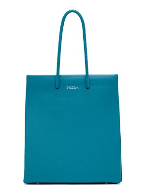 Medea blue long strap short bag