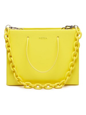 Medea hanna chain strap leather bag