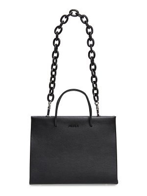 Medea hanna chain strap leather tote