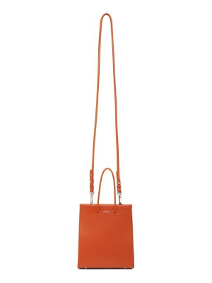 Medea orange short shoulder bag
