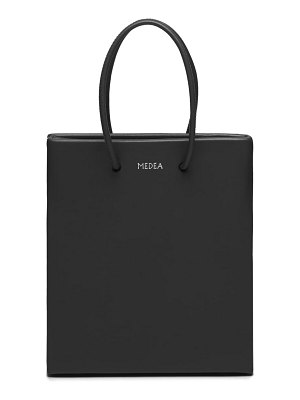 Medea short calfskin leather bag