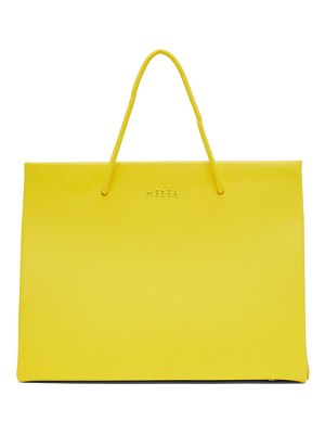 Medea yellow hanna chain shoulder bag