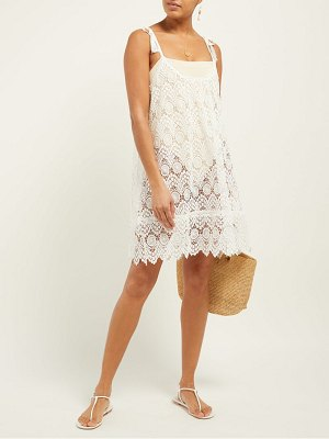 Melissa Odabash ana lace mini dress