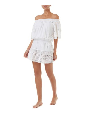 Melissa Odabash Michelle Off-Shoulder Coverup Dress