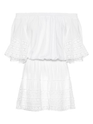 Melissa Odabash michelle off-the-shoulder minidress