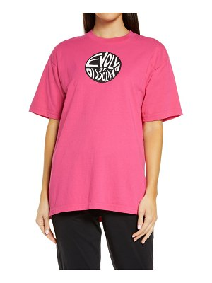 Melody Ehsani evolve or dissolve cotton graphic tee