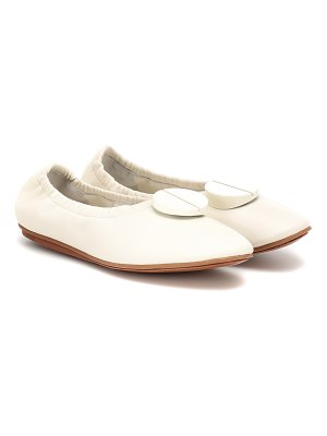 MERCEDES CASTILLO lena leather ballet flats