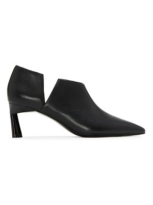 MERCEDES CASTILLO point toe leather booties