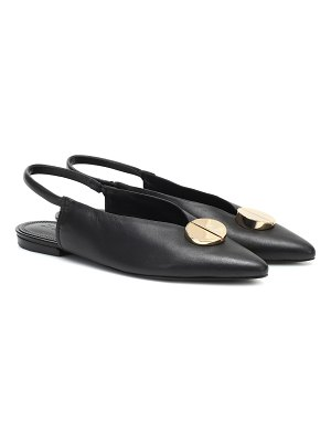 MERCEDES CASTILLO tabi leather slingback ballet flats