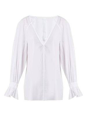 MERLETTE azore cotton poplin blouse