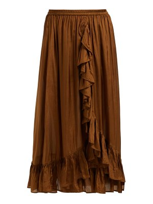 Mes Demoiselles habibi ruffled skirt