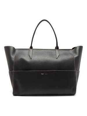 Métier incognito large leather tote bag