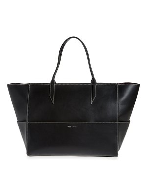 Metier London large incognito cabas leather tote