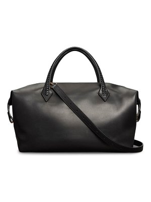 Metier London perriand city leather duffel bag