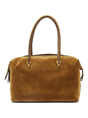 Métier perriand all day suede bag