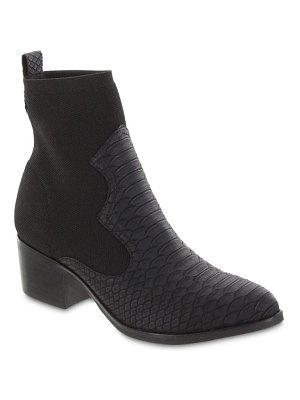 MIA nicky snake embossed bootie