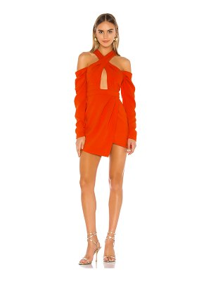 Michael Costello x revolve libby mini dress