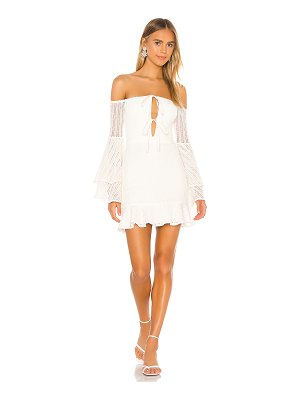 Michael Costello x revolve orchid mini dress