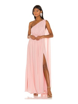 Michael Costello x revolve vella gown